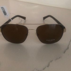 NWT Cole Han aviator sunglasses